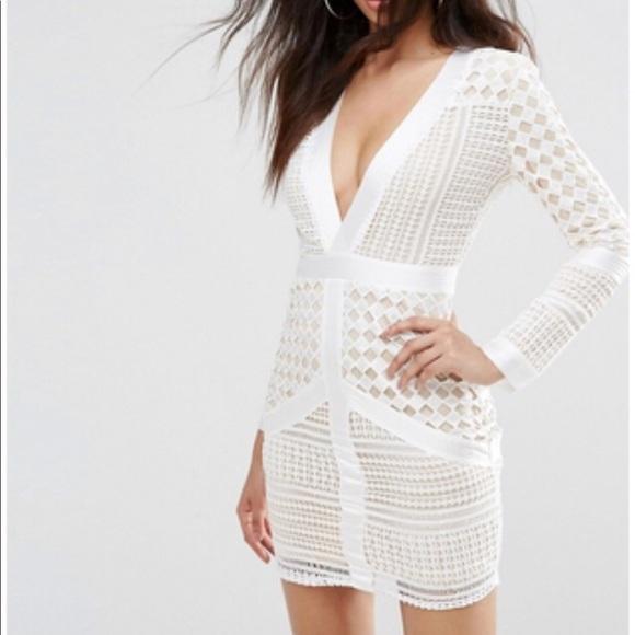 better wholesale dealer size 7 Missguided Dresses   White Long Sleeve Dress   Poshmark